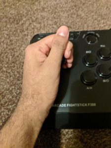 Broomstick Grip - How to hold a fightstick